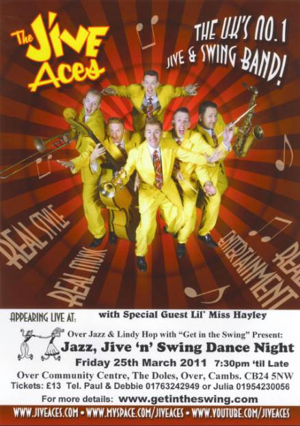 Jive Aces Flyer 25-3-11